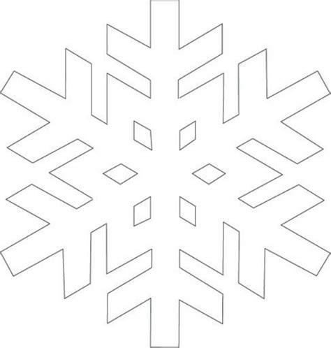 printable snowflake templates to get you through any snow