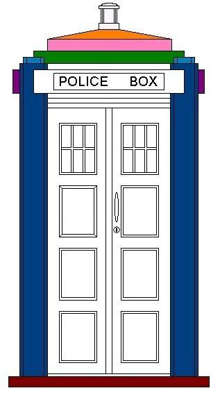 1000 Images About Doctor Who Prop Construction On Tardis Cat House Plans