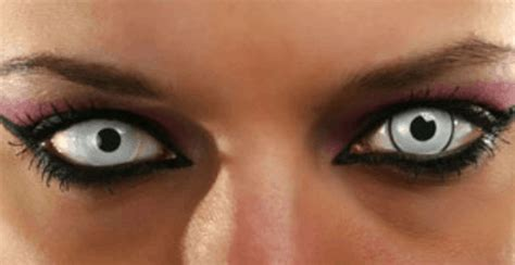 creepy colored contacts lenses colored contacts contact lenses