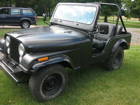 1974 Cj5 Jeep Sell Used 1974 Jeep Cj5 In Byron Center Michigan United