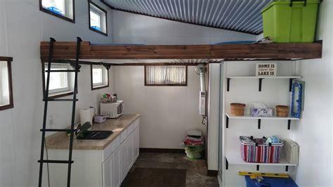 sq ft standard tiny house  michigan tiny homes
