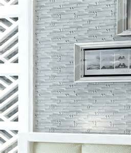metal glass mosaic bath wall silver stainless