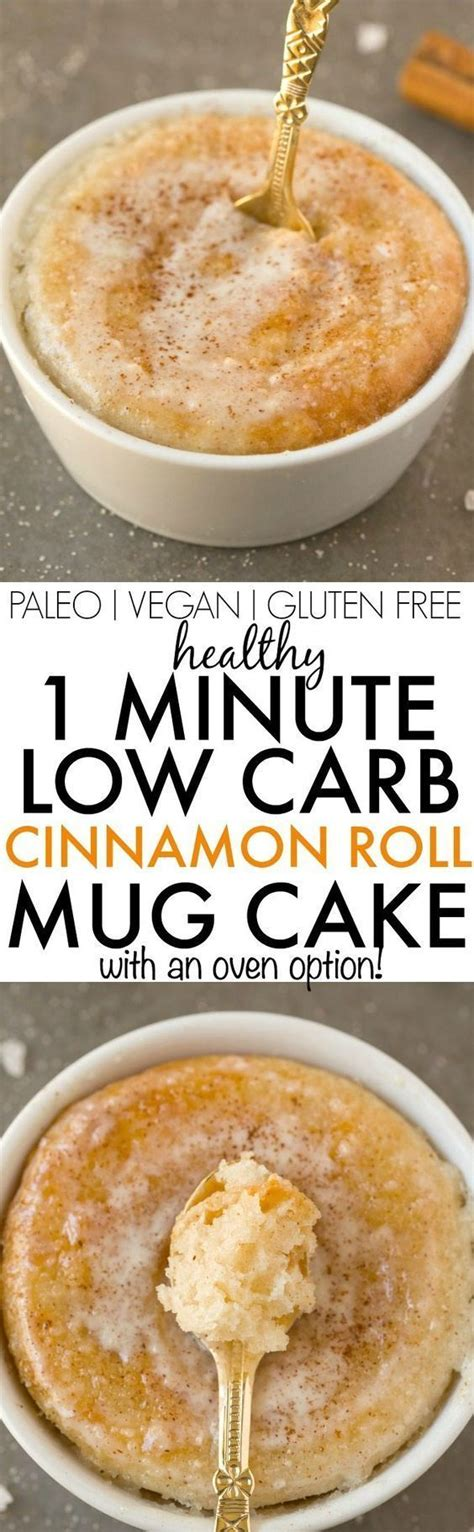 Low Carb Detox Symptoms by Healthy 1 Minute Low Carb Cinnamon Roll Mug Cake Light