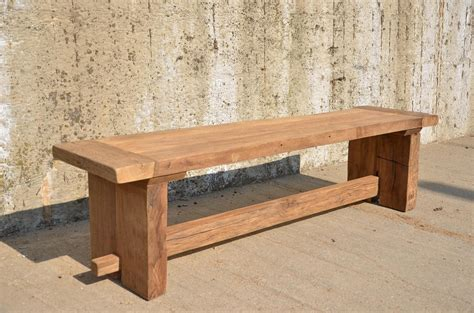 oak bench brand spanking new limited edition reclaimed wood