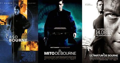 el caso bourne trilogia cine de patio el caso bourne el mito de bourne y el