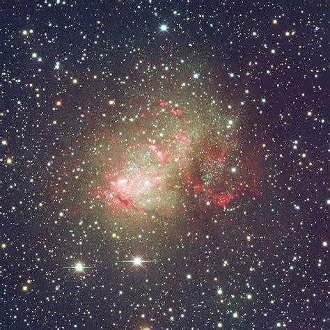 ic   dwarf galaxy  cassiopeia annes astronomy news