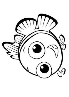 baby nemo coloring pages finding nemo coloring pages for kids printable free