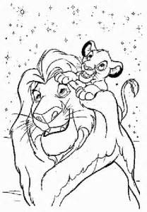 free coloring pages lion king 2 simba