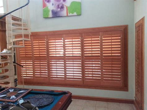 interior shutters for large windows traditional 1 1 4 inch all wood interior window shutters