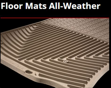 Weather Mats by All Weather Floor Mats New Cars