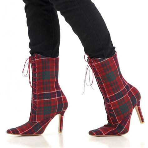 scottish boots 56 best tartan footwear images on shoe