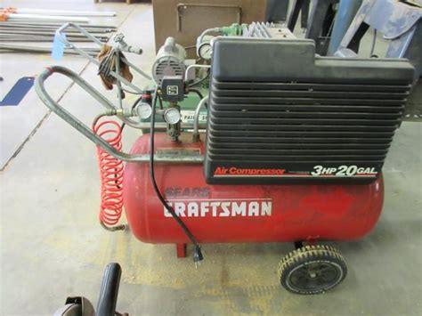 craftsman air compressor model 11088 20 gallon 3 hp