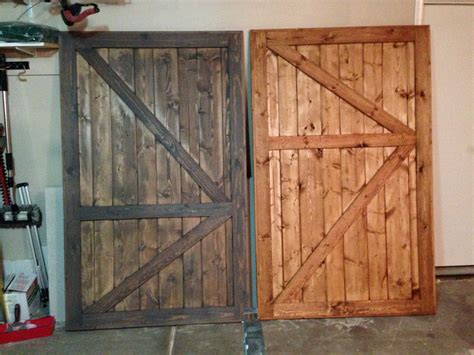 Barn Door Closet Door White Barn Door Closet Doors Diy Projects