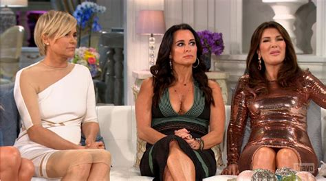 does lisa vanderpump have extens real housewives of beverly hills reunion part one recap