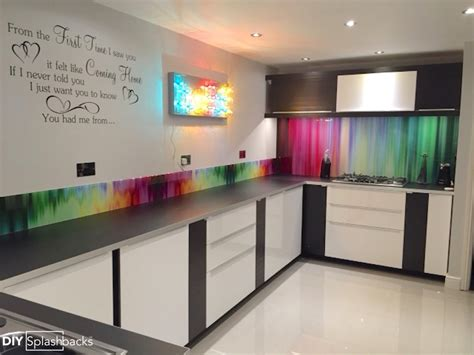 kitchen splashback ideas uk glass upstands ideas