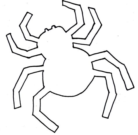 Spider Template spiders pictures cliparts co