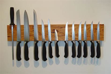 Magnetic Wooden Knife Rack by How To Building Wooden Knife Rack Magnetic Pdf