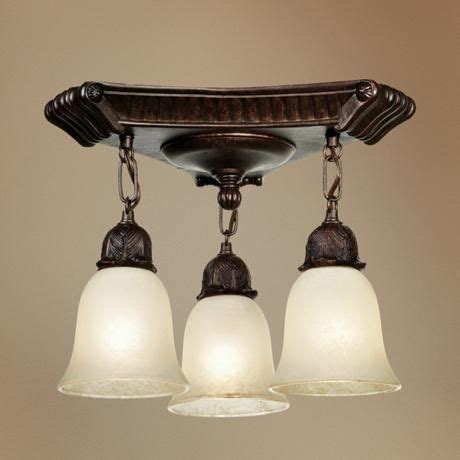 bronzed victorian hanging glass   wide ceiling