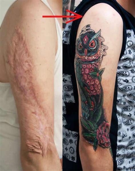 tatuajes sobre cicatrices y lunares tatuajes logia