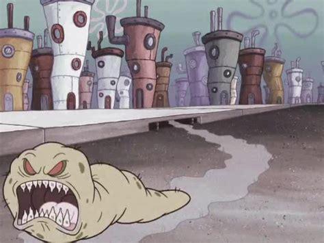 spongebuddy mania spongebob characters sinister slug