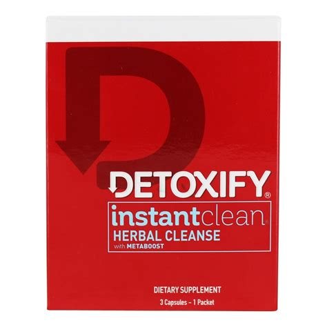 Where To Buy Instant Clean Detox Australia by Buy Detoxify Brand Instant Clean Herbal Cleanse