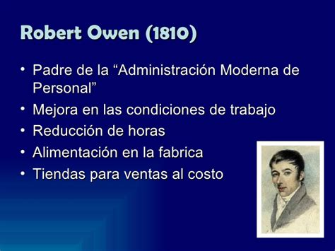 biografia de owen robert vida de owen robert historia evoluci 243 n del pensamiento administrativo