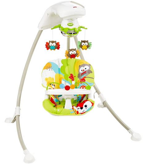 fisher price cradle n swing rainforest fisher price woodland friends cradle n swing d