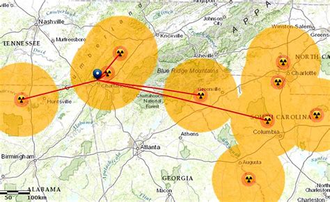 nuclear map u s nuclear agency hid concerns hailed safety record as