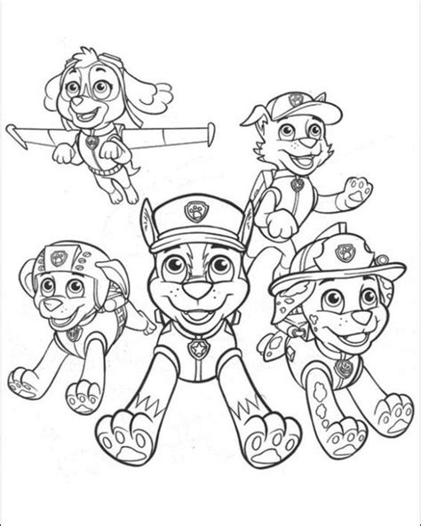 paw patrol nickelodeon coloring pages paw patrol to the rescue coloring page free for kids