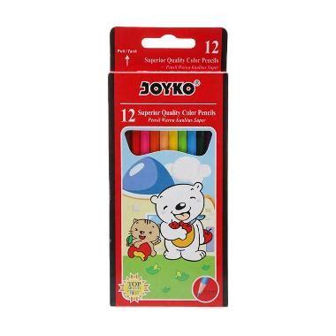 jual joyko cp 12pb pensil warna 12 pcs harga kualitas terjamin blibli