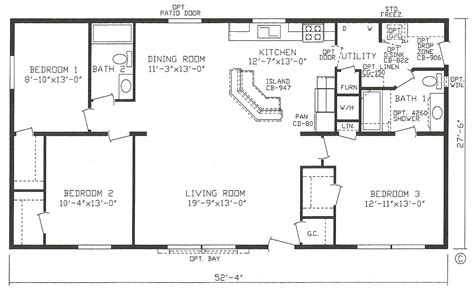 open floor plan modular homes 2011