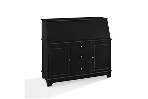 Crosley Sullivan Desk In Black by Sullivan Desk In Black By Crosley At Gardner White