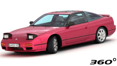 nissan model 3d model nissan 240sx se 1994 turbosquid 1190334