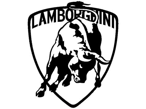 lamborghini logo black and white gudu ngiseng blog clip art lamborghini