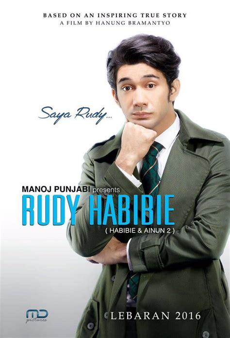 biografi rudy habibie inilah teaser poster dan sinopsis film rudy habibie
