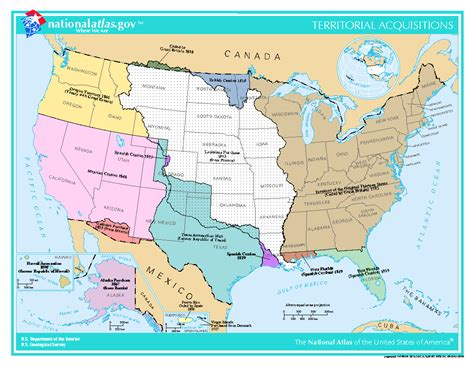 territorial acquisition map u s territorial acquisition map blank