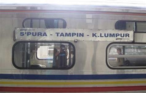 Ktm Johor Bahru To Kl Sentral Singapore Kuala Lumpur Ktm Route Malaysia Travel