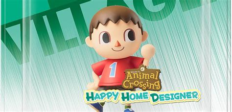happy home designer villager furniture the villager smash amiibo is compatible with animal crossing happy home designer possible