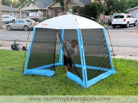 Coleman Screen House by Spend The Day Outside With The Coleman Youth Instaclip
