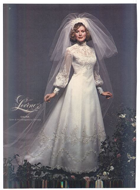 1975 Brides Magazine   Vintage Weddings   Wedding dresses