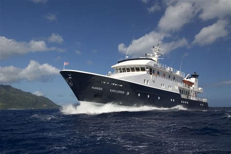 Dining Room Sale by Hanse Explorer Yacht Expedition Yacht Charter Eyos