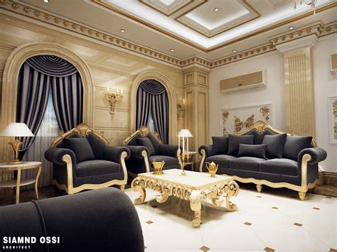 Qatar Living Room by Luxurious Design For Qatari Living Room Siamnd Ossi