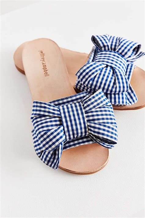 20 Gingham Sandals On Trend For Summer 2017 and Beyond!