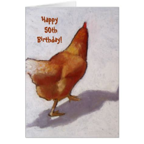Chicken Birthday Card Chicken Birthday Cards Invitations Zazzle Co Uk