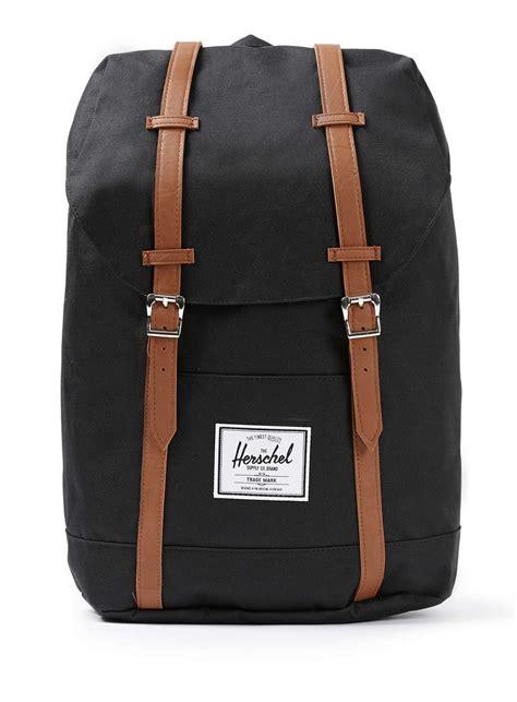 Backpack Herschel herschel supply co black backpack in black for lyst