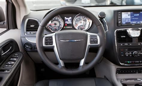 Town And Country Interior by Car And Driver