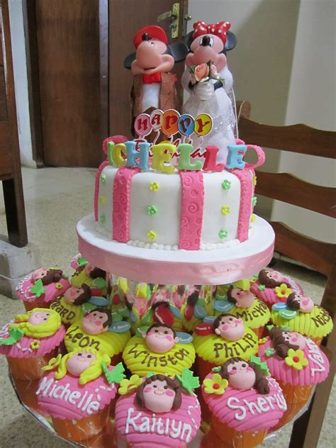 Cupcakes Bday Pony Cake Birthday Kue Ulang Tahun homiepastry fresh cakes cupcakes for you