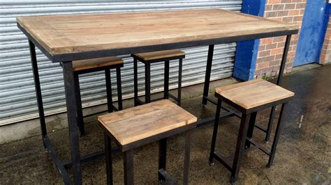 bar height table chairs simple sets counter stylish