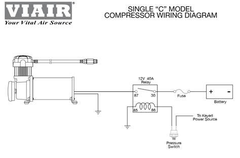 pressure switch wiring diagram air compressor wiring