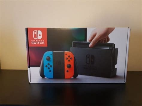 Nintendo Switch Neon Blue nintendo switch neonblue 1 week for sale in cork city centre cork from bdmc5